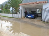 Arrival in Denia - and its damp!