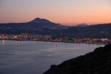 Javea with the Penon behind