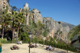 Quiet spot for a picnic, Guadalest