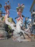 Fallas statues