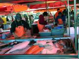Bergen market fish stall