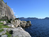 View from crag in Bergen!