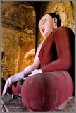 Painted Buddha