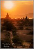 HDR Sunset on Bagan