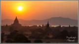 Sunset on Bagan