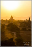 Sunset on Bagan non HDR version