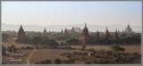 Bagan Pagodas at Dusk