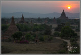 Colors of a Bagan Sunset 1