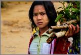 Burmese Market Girl