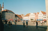 town main square