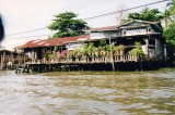 House on Stilts in Thailand
