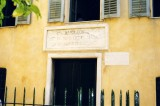 Birth place of Napoleon Bonaparte in Corsica