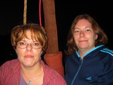 Melanie & Heather on Hot Air Balloon