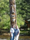 Totem Pole Mom & Dad Estes Park