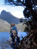 Mom @ Dove Lake