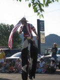 Williams, Arizona  4th of July parade