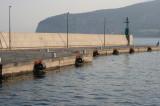 Leaving the Sorrento dock to Capri