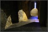 Dormitorio de los monjes en San Juan