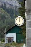Reloj en Canfranc