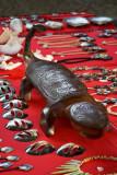 1740 Lizard carving of unknown origin...