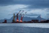 1764 Harbor with Mooera behind