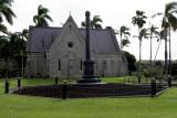 2438 Chapel and Kalakaua Obelisk