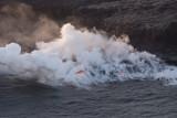 N1671 A few tubes lead lava for miles toward Ocean