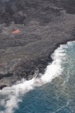 N1722 Glowing spot and Black Sand Beach you cannot be on