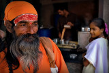 The Sadhu and the lady