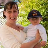 Mum & Josh at 7 months