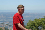 Brian Higgins at Mt. Diablo - Swollen jaw is from root canal done the day before.
