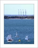 Four Masts at the Horizon