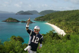Brady at Trunk Bay