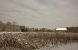 Snowy Prairie Cabin