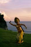 Uluwatu sunset dancer