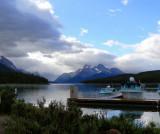 Maligne Lake and Spirit Island