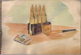 WWII Watercolor 4