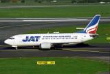 JAT JUGOSLAV AIRLINES BOEING 737 300 DUS RF 1771 22.jpg