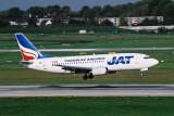 JAT JUGOSLAV AIRLINES BOEING 737 300 DUS RF 1771 21.jpg