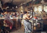 Plume Factory, 1902, Johann Hamza (1850-1927)