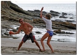 Sailing & Football On The Beach
