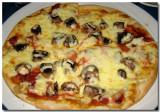 Peperoni & Mushroom Pizza