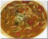 Italian Beef Vegetable Noodle Soup