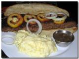 Meat-loaf Sandwich