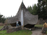 The hobbit house where Jim proposed