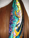 Beautiful stained glass all around