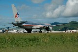 Takeoff at St Maarten