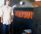 Andouille - Smoking Sausage in Centuries Old German Tradition