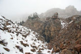Hagerman Tunnel, Elev 11,528' with Continental Divide Skyline Above