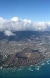 Oahu - Plane View